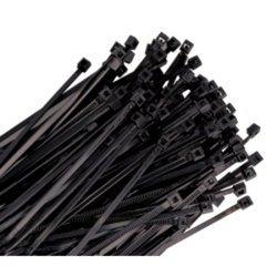 WIRE TIE 14IN. BLACK 100/PK 120LB TENSILE