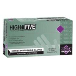 Lightly powdered ind grade nitrile glove size XXL