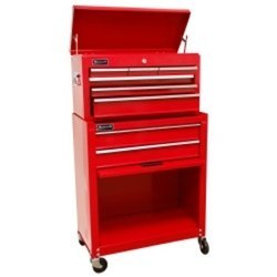24 Red Homeowners 8 Drawer Combo Tool Box
