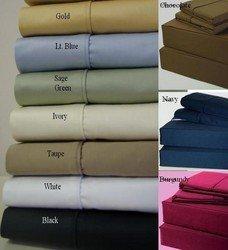 "16"" Super Deep Pocket -Egyptian Cotton 600TC Pillow-Top"