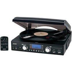 JENSEN JTA-460 3-Speed Stereo Turntable with MP3 Encodi