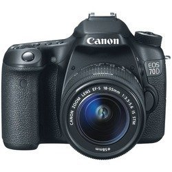 CANON 8469B016 20.2 Megapixel EOS 70D Digital SLR Camer