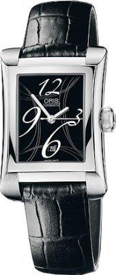 Oris Miles Rectangular Date Women's Watch