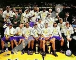 2009 Los Angeles Lakers NBA 8x10 Photograph 2009 NBA Fi