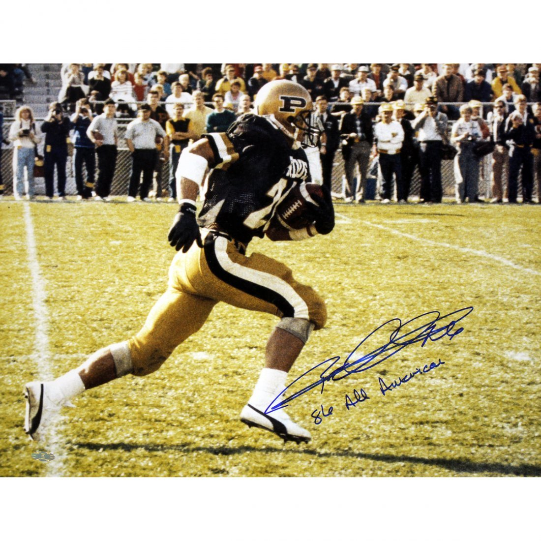 "Rod Woodson Purdue 16x20 Photo w/ ""86 All American"" ins"