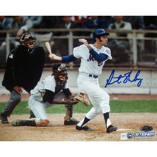 Art Shamsky New York Mets Swing Horizontal 8x10 Photo (
