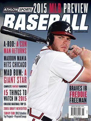 2015 Athlon Sports MLB Baseball Preview Magazine- Atlan