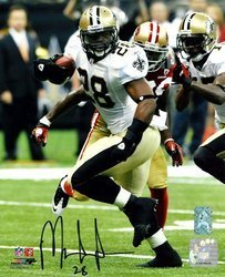 Mark Ingram New Orleans Saints NFL Hand Signed 8x10 Pho