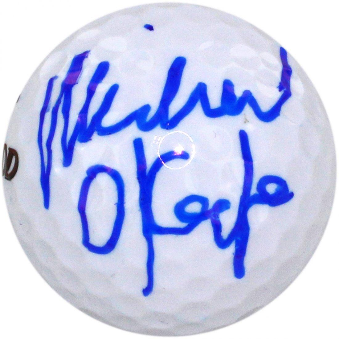 Michael O'Keefe Signed Bushwood Logo Golf Ball