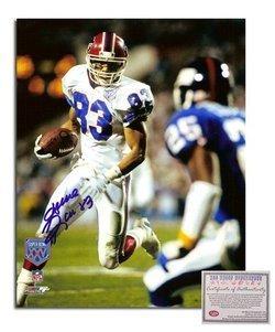 Andre Reed NFL Buffalo Bills Hand Signed 8x10 Photograp