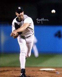 Randy Johnson New York Yankees MLB Hand Signed 16x20 Ph