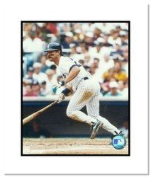 Don Mattingly New York Yankees MLB Double Matted 8x10 P