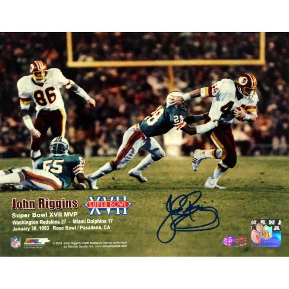 John Riggins Washinton Redskins Super Bowl XVII vs Miam