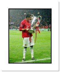 Cristiano Ronaldo Manchester United Double Matted 8x10
