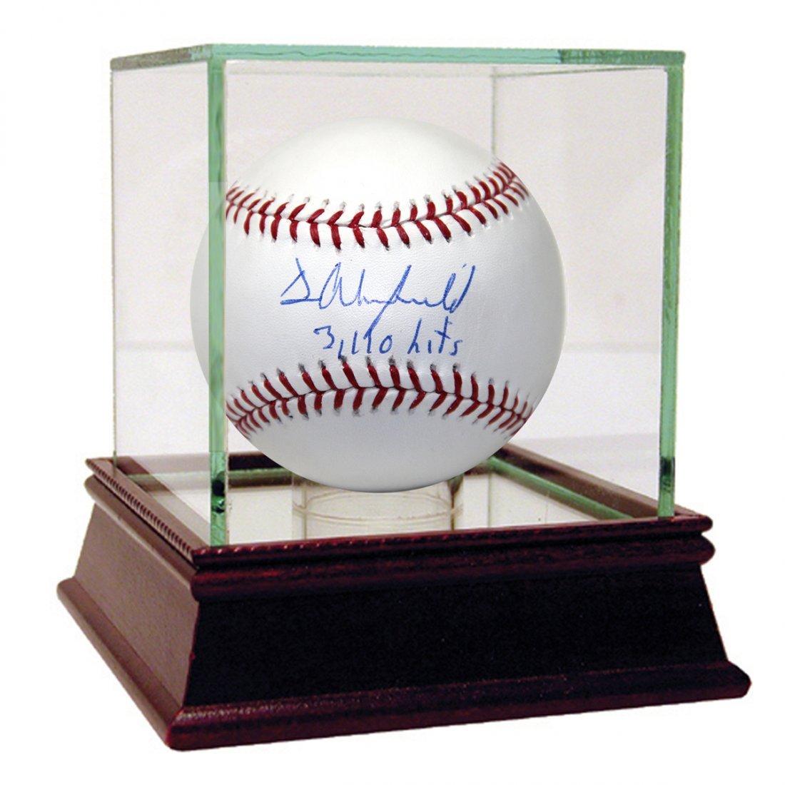 Dave Winfield Signed MLB Baseball w/ 3110 Hits Inscript