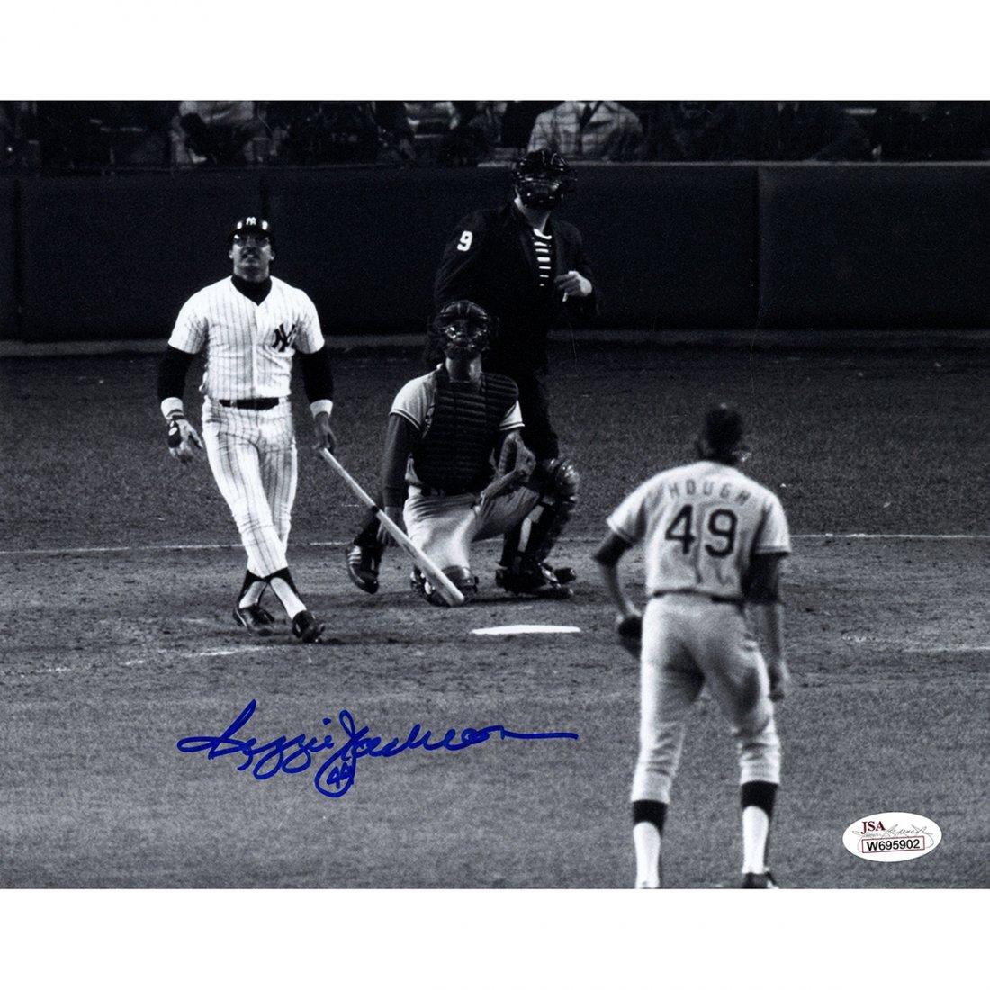 Reggie Jackson Signed 8x10 Photo (JSA)