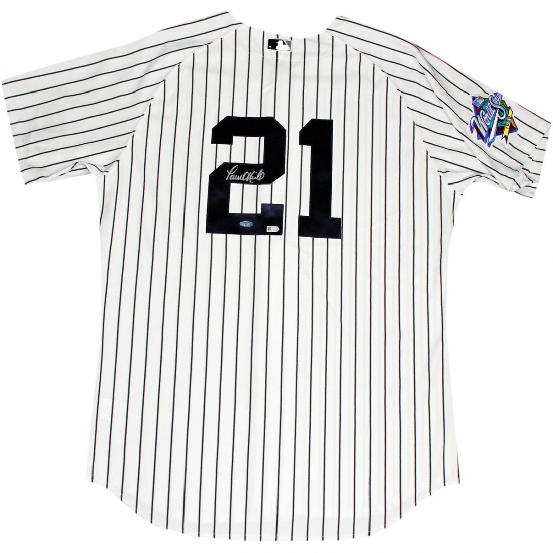 Paul O'Neill Signed New York Yankees Authentic Pinstrip