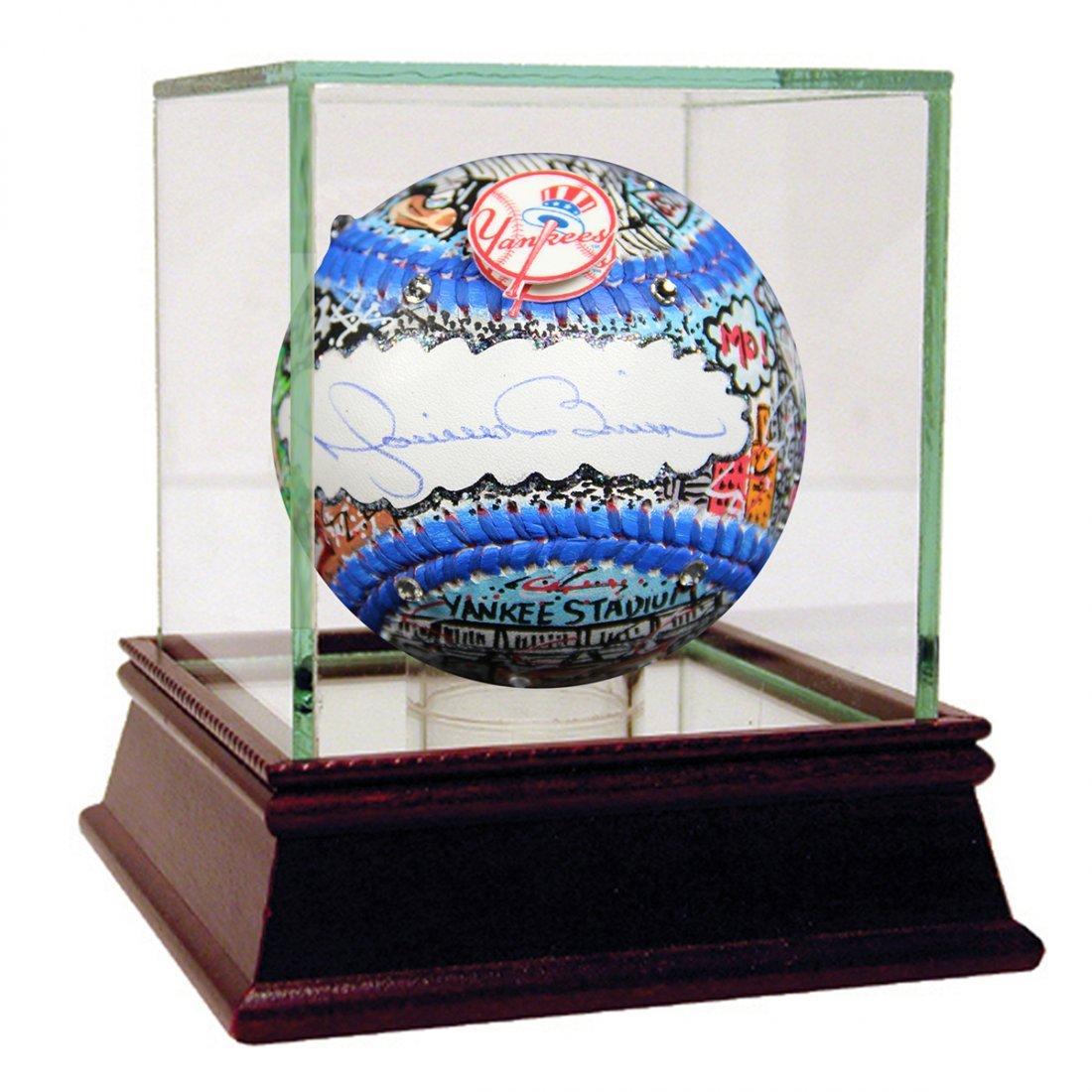 Mariano Rivera Signed Fazzino Pop Art MLB Baseball