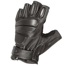 Reactor Gloves, 3/4 Finger, Black, Medium
