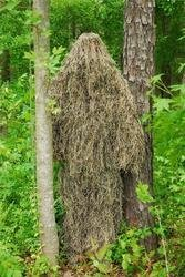 Synthetic Ultra-Light Ghillie BDU Jacket Mossy Large