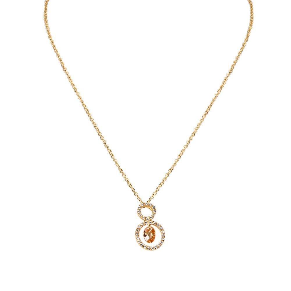 gold champaign neck