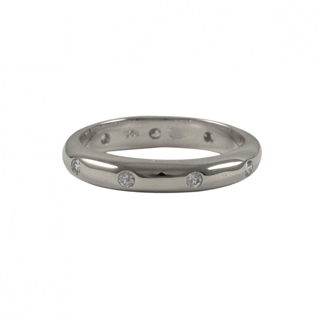 Sterling Silver-cz Ring