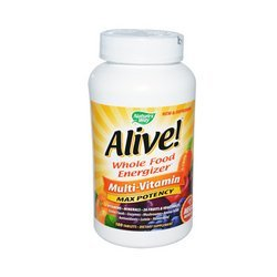 Natures Way Alive! Whole Food Energizer Multi-Vitamin -