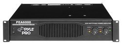 Professional 6000 Watts Stereo Power Amplifier