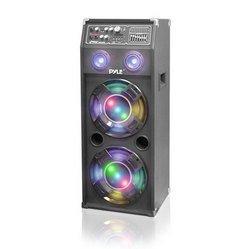 1000 Watt Disco Jam 2-Way Powered Speaker System with F