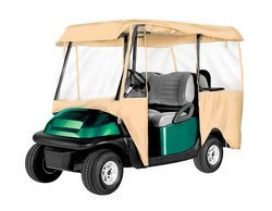 Armor Shield Deluxe 4 Sided Golf Cart Enclosure 4 Passe