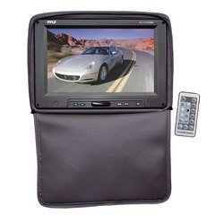 Adjustable Headrest w/ Built-In 11'' TFT/LCD Monitor W/