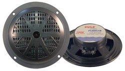 100 Watts 5.25'' 2 Way Black Marine Speakers