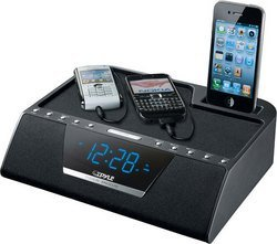 iPod/iTouch/iPhone Multi-Source Charging Clock FM Radio