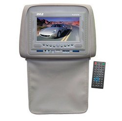 Adjustable Headrests w/ Built-In 7'' TFT/LCD Monitor w/