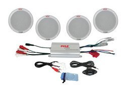 4 Channel Waterproof MP3/ iPod Amplified 6.5'' Marine S