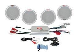 4 Channel Waterproof MP3/ iPod Amplified 6.5'' Marine S