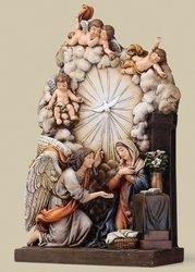 """9.25"""" The Annunciation Figure Set of 2"""
