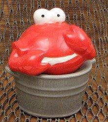 Ceramic Crab Bucket S/P Set
