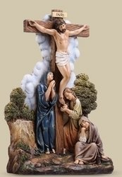 """9.75"""" The Crucifixion Figure Set of 2"""