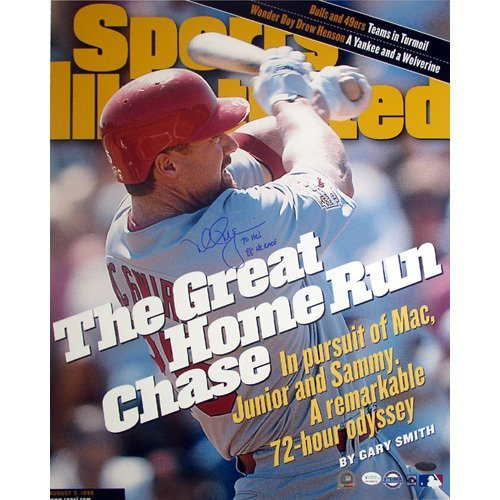 Mark McGwire SI Cover Great HR Chase 70HR/98 HR Race 16