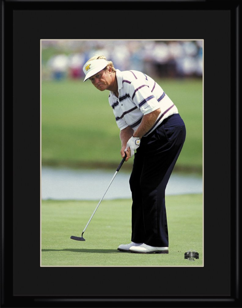 Lithograph - 11x14 Jack Nicklaus