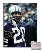 Mel Renfro NFL Dallas Cowboys Hand Signed 8x10 Photogra