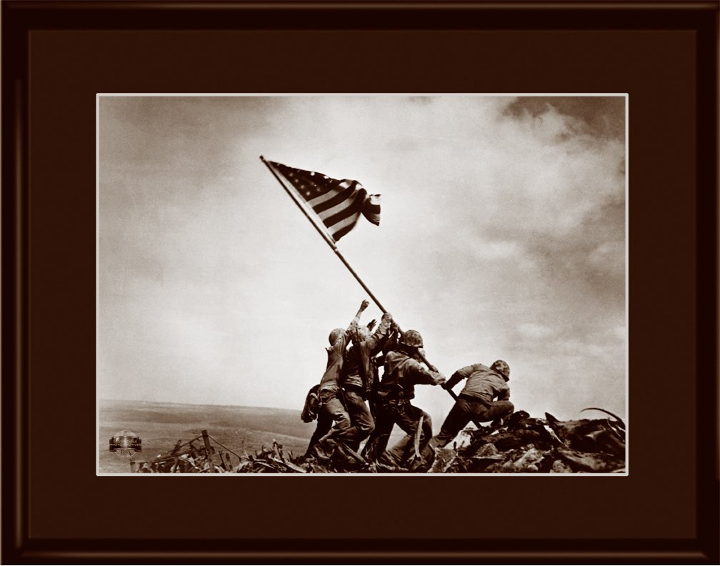Lithograph -11x14  Iwo Jima
