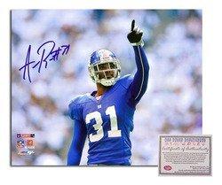 Aaron Ross NFL New York Giants Hand Signed 8x10 Photogr