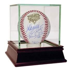 New York Yankees Multi Signed 2000 WS Baseball (14 Sigs