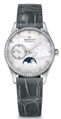 Zenith Heritage Lady Ultra Thin Moon Phase Women's Watc