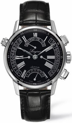 Longines Heritage Collection Retrograde Men's Watch