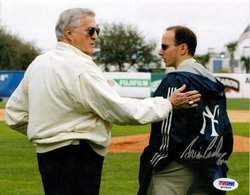 Brian Cashman New York Yankees MLB Hand Signed 8x10 Pho