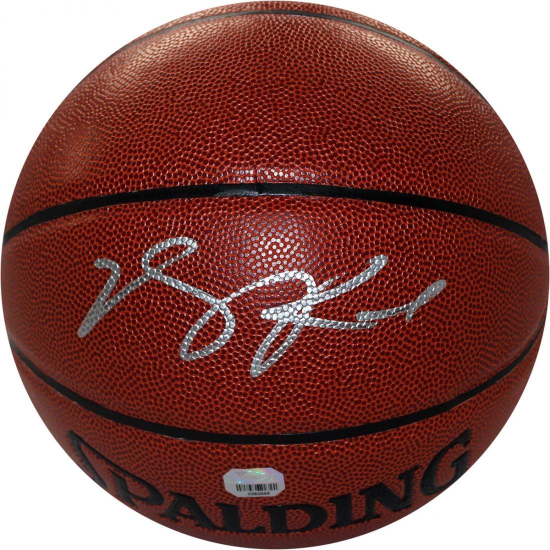 Derrick Rose Signed I/O Basketball (Fanatics Auth)