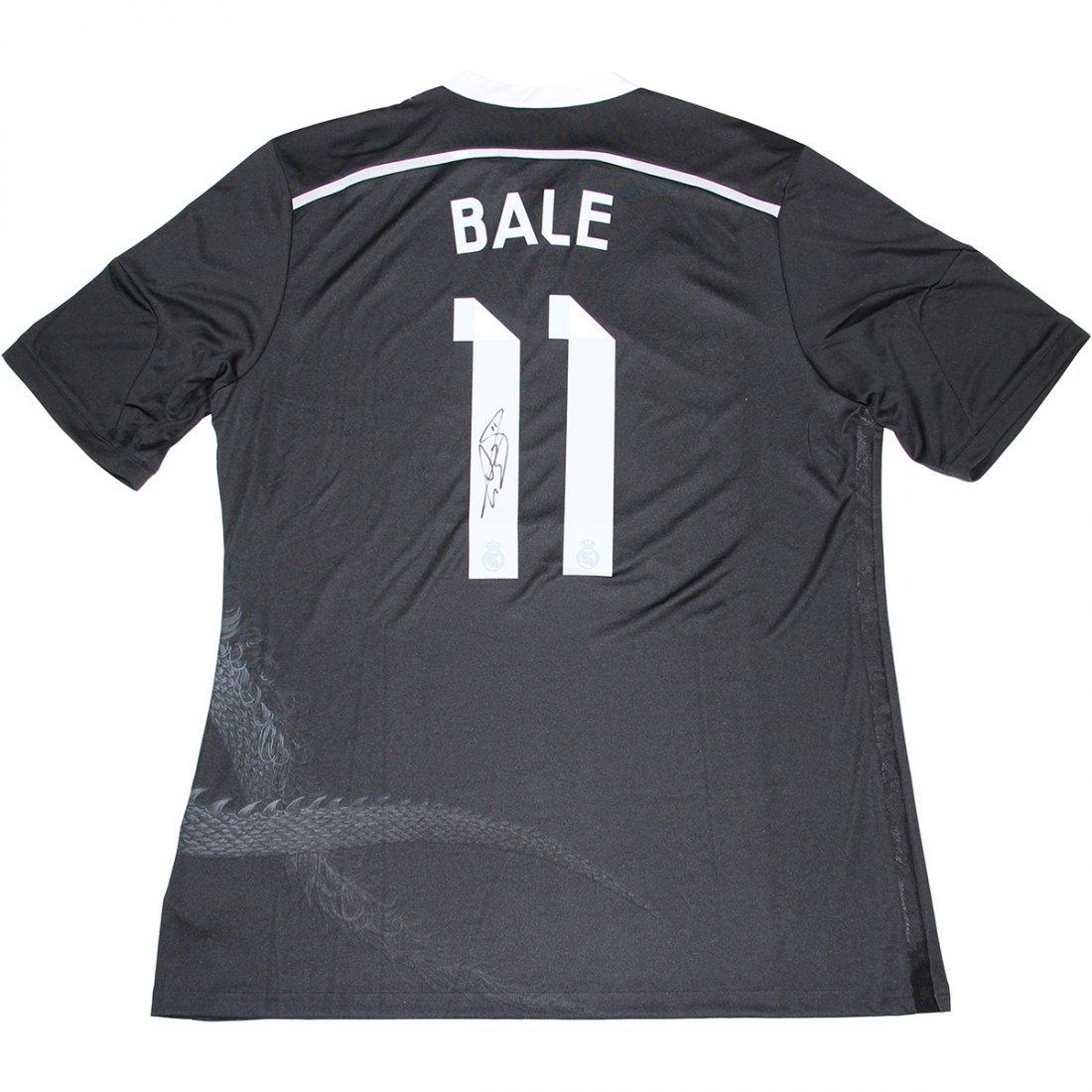 Gareth Bale Signed 2014/15 Real Madrid Away Jersey (Ico